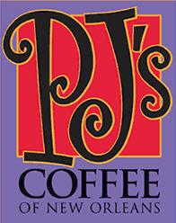 PJs Coffee of New Orleans Logo
