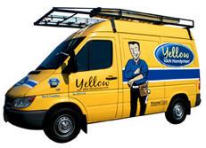 Yellow VAN Handyman Logo